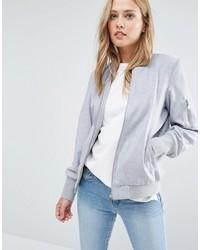 Vila Wool Mix Bomber Jacket