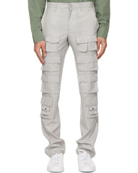 Givenchy Grey Multipocket Cargo Pants