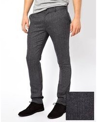 Farah Vintage Pants In Herringbone