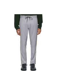 Hugo Grey Wool Zander Trousers