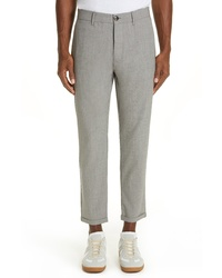 Eleventy Solid Stretch Wool Trousers
