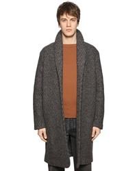 Levi's Long Wool Coat W Shawl Collar