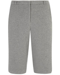 Dorothy Perkins Luxe Grey Wool Culottes