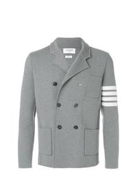 Thom Browne 4 Bar Stripe Double Breasted Merino Wool Sport Coat