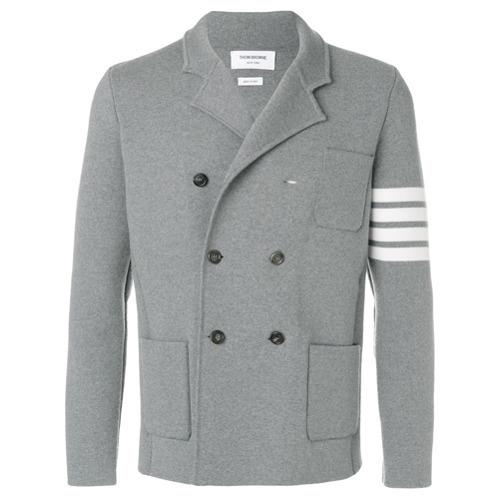 f315b4b4b8 ... Thom Browne 4 Bar Stripe Double Breasted Merino Wool Sport Coat ...