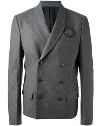 Diesel Black Gold Decorated Herringbone Blazer