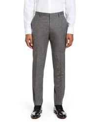 BOSS Ben Solid Wool Dress Pants
