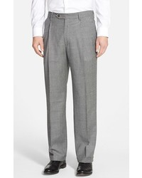 Berle pleated houndstooth wool trousers medium 1148215