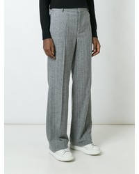 Calvin Klein Collection Pleated Straight Leg Trousers