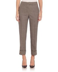 Thom Browne Classic Backstrap Wool Trousers