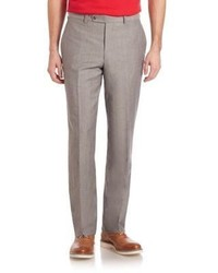 Saks Fifth Avenue Collection Wool Linen Pants