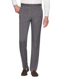 Zanella Devon Stretch Solid Wool Trousers