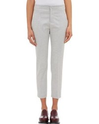Jil Sander Felted Canvas Sansone Trousers
