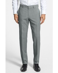 BOSS Genesis Flat Front Wool Trousers