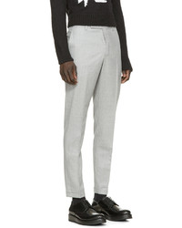 Carven Grey Wool Ample Trousers