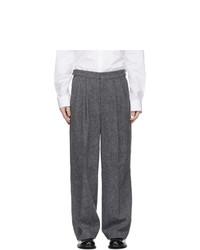 Juun.J Grey Wool Trousers