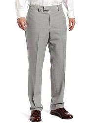 Louis Raphael Louis Raphl Luxe 100% Wool Solid Colored Modern Fit Flat Front Dress Pant