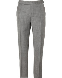 Richard James Relaxed Fit Wool Suit Trousers
