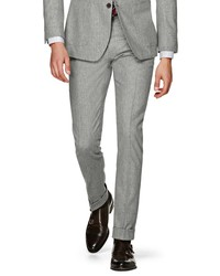 Suitsupply Soho Solid Wool Trousers
