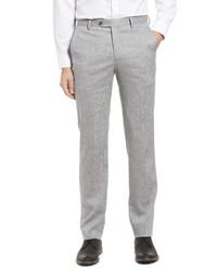Berle Solid Wool Linen Dress Pants