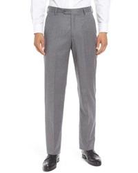 Berle Solid Wool Trousers