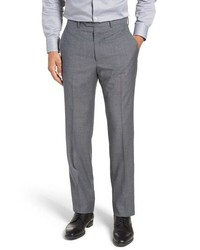 Santorelli Solid Wool Trousers