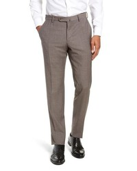 Incotex Solid Wool Trousers