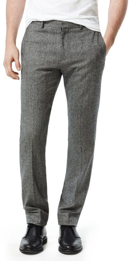 Theory Jake W Pant In Wyndmere Wool Cashmere Blend