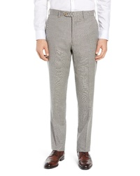 John W. Nordstrom Torino Solid Wool Trousers