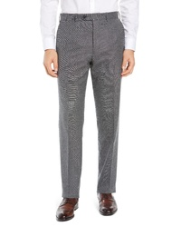 John W. Nordstrom Torino Solid Wool Trousers