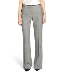 BOSS Tulea Wool Blend Straight Leg Suit Trousers