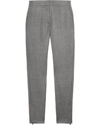 Stella McCartney Velez Woven Wool Skinny Pants