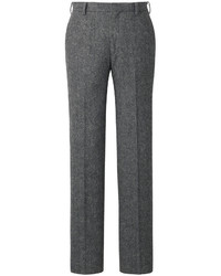 Uniqlo Wool Blended Slim Fit Flat Front Pants