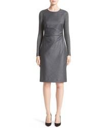 Ragazza gathered wool dress medium 5034795