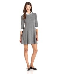 Bailey 44 Viva Collared Long Sleeve Fit And Flare Dress