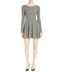 Alice + Olivia Brinley Long Sleeve Mini Dress