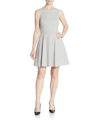 Theory Tillora Mod Fit And Flare Dress