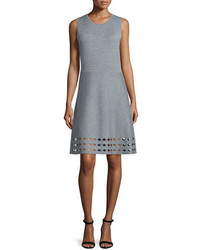 Elie Tahari Zita Sweater Dress Wcutout Hem