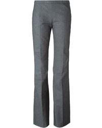 Side zip flared trousers medium 344049