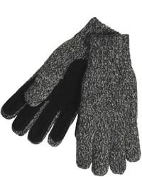 Ragg Auclair Wool Blend Gloves Pig Suede Palm