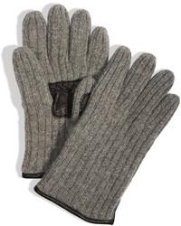 DKNY Leather Palm Glove