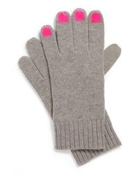 Marc by Marc Jacobs Merino Wool Gloves Grey Malange One Size