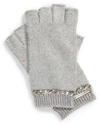 MICHAEL Michael Kors Michl Michl Kors Chain Accent Fingerless Gloves