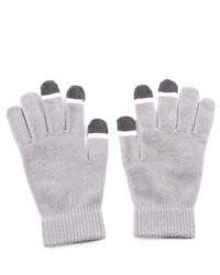 Vintage Home Grippem Grey Micro Velvet Touch Screen Gloves