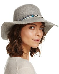August Accessories Poms Floppy Hat