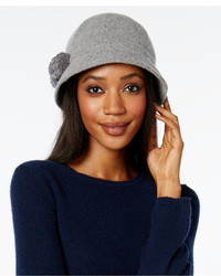 August Hats Melton Pom Pom Cloche