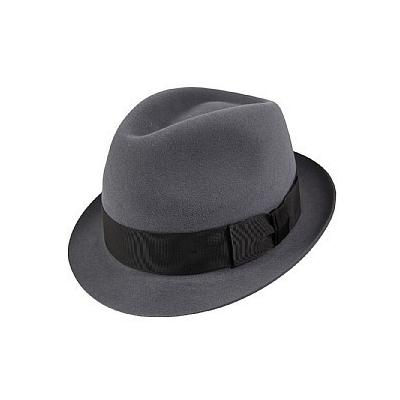 d05cd4aa848 ... Christys  Hats Christys Hats Pinch Vegas Trilby Hat Grey