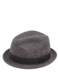 Saks Fifth Avenue Collection Lambs Wool Fedora Hat