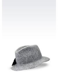 Emporio Armani Classic Felt Hat With Bow