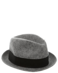 Paul Smith Feather Trimmed Wool Fedora